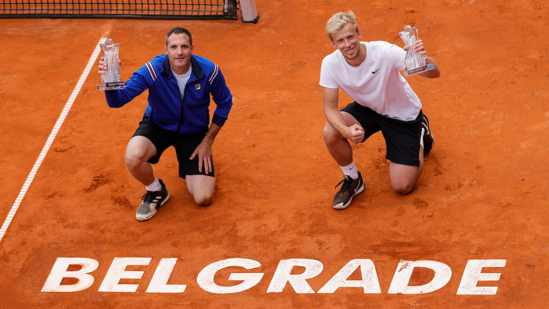 Belgrade Open doubles champions
