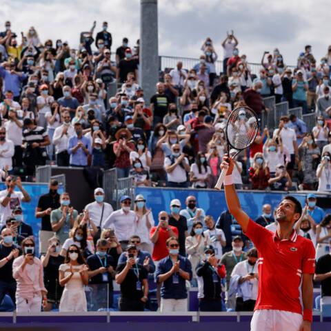 Novak Đoković on Wimbledon and Roland Garros