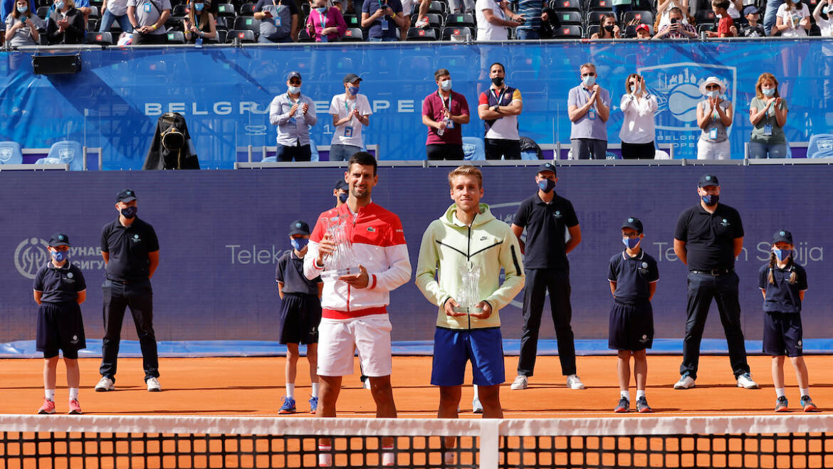 ATP officials are very pleased with the tournament in Belgrade