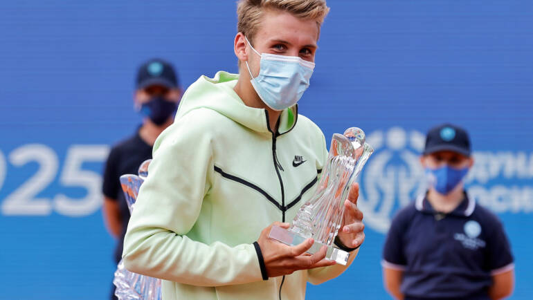 Molcan: I am not sad, because I lost from the world's best tennis player