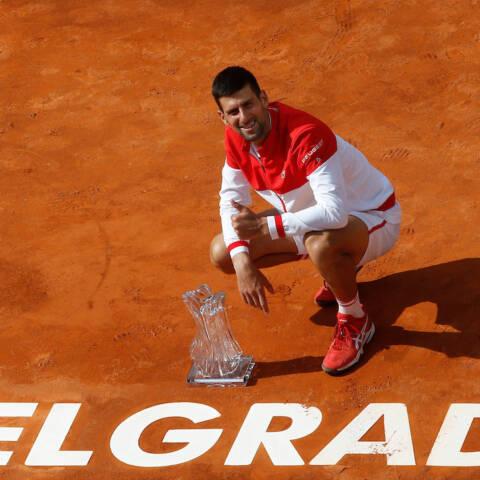 Novak Đoković wins Belgrade Open