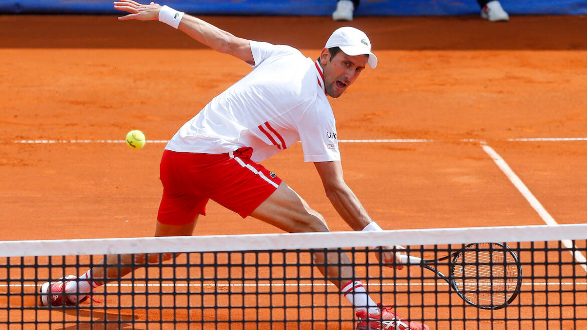 Novak inspired by home courts