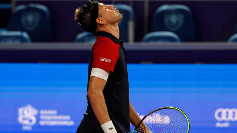 Serbia's Filip Krajinović withdrew from the Belgrade Open